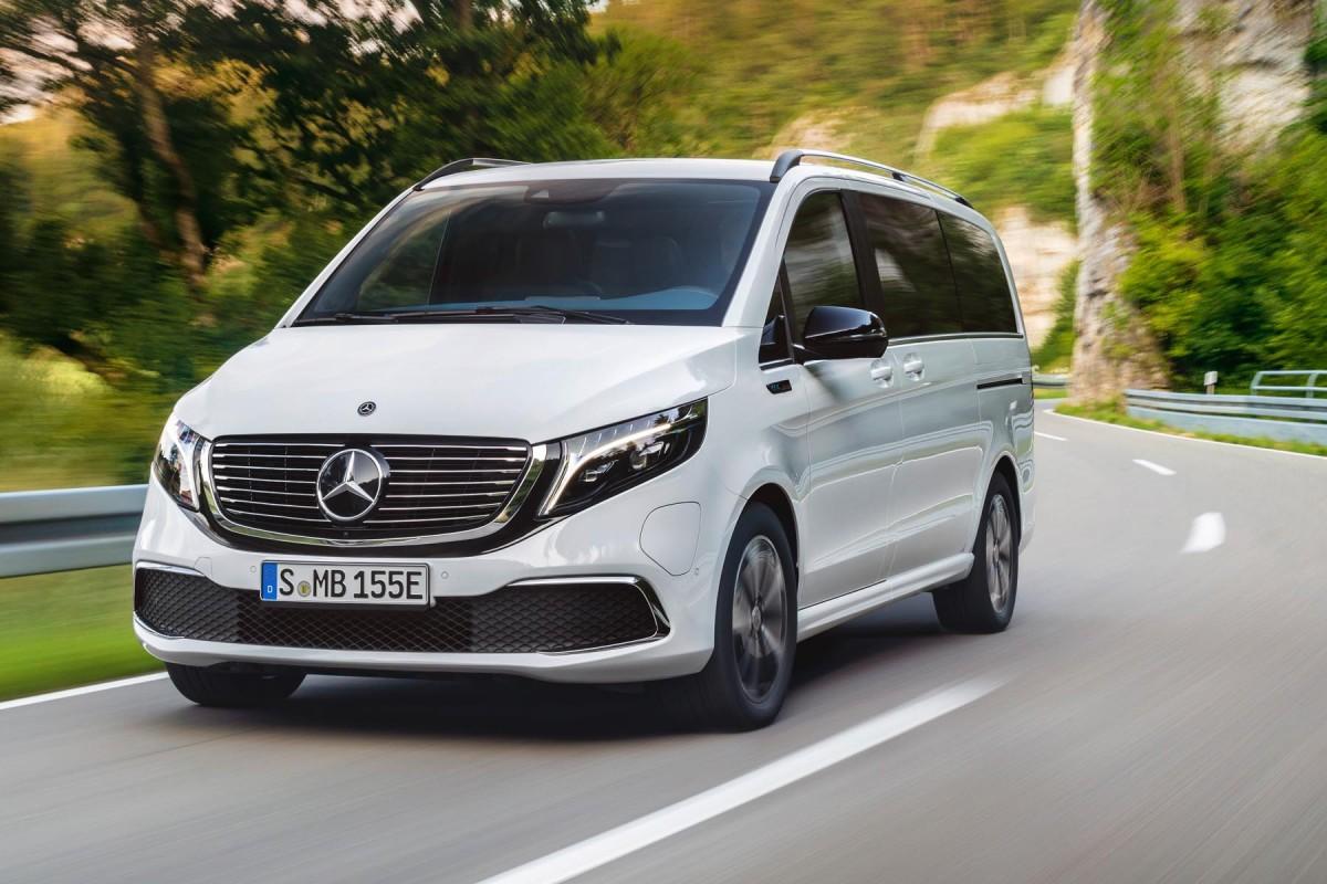 Mercedes EQV (2020) : le prix du grand monospace électrique