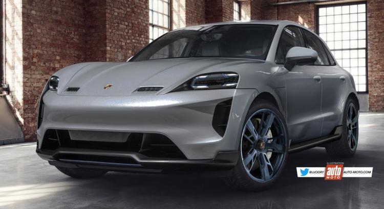 Futur Porsche Macan électrique (2021) : les premières infos