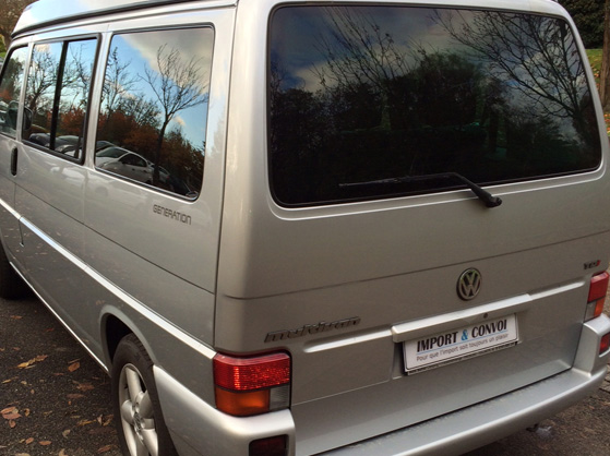 Volkswagen T4 Multivan de 2002 - 2