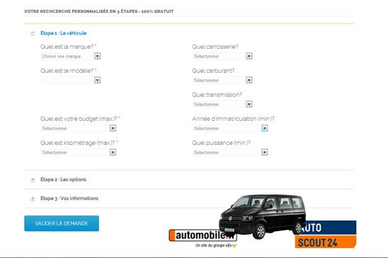 Recherche automobile